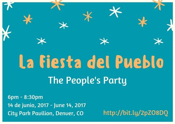 La Fiesta del Pueblo - The People's Party